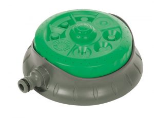 Silverline 718693 8-Pattern Dial Sprinkler, 140 mm Diameter