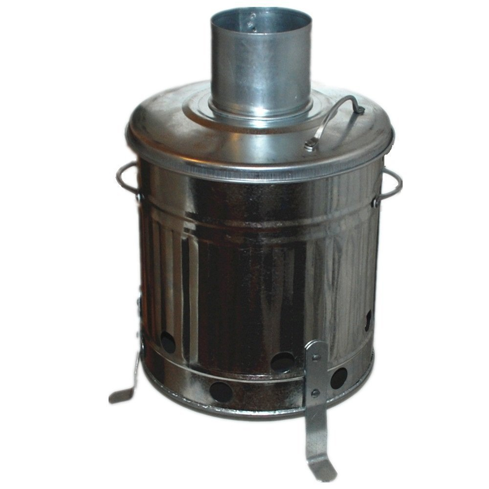 how to use garden incinerator